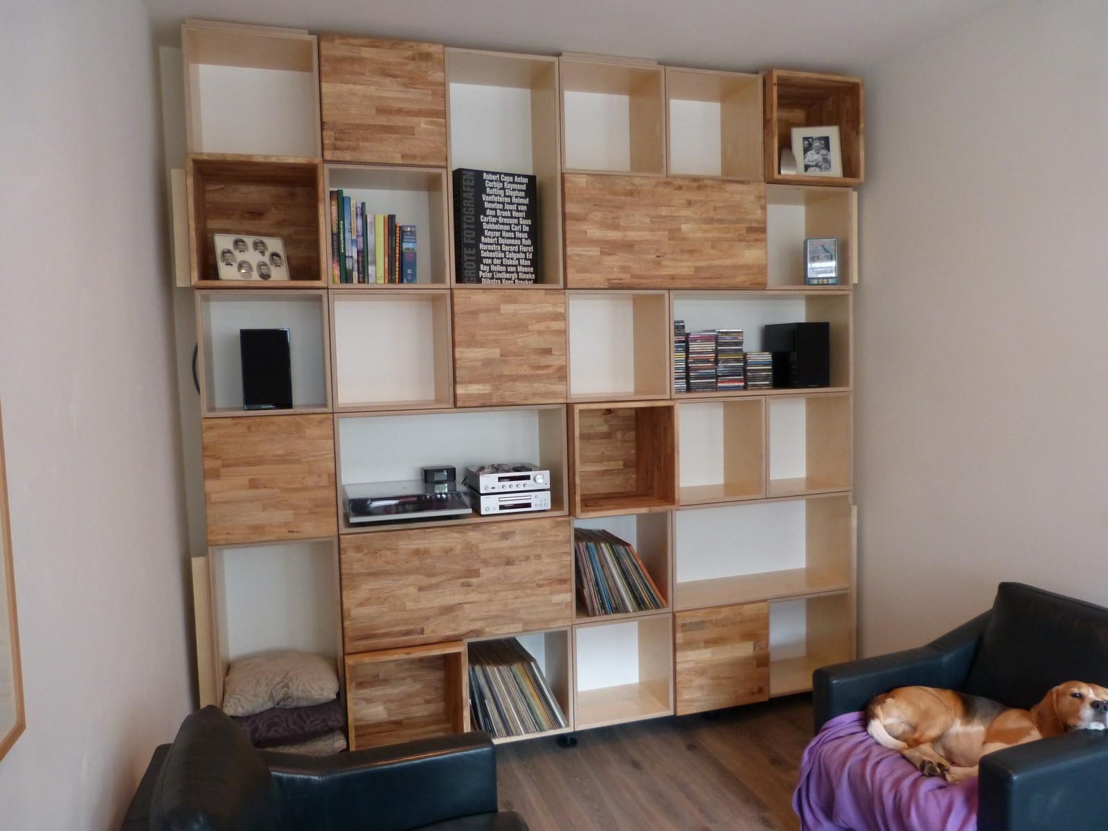 kubuskast wandmeubel boekenkast Deuvel Design 5