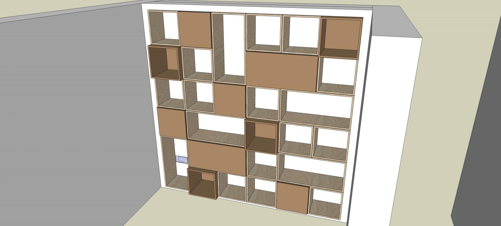 kubuskast ontwerp Deuvel Design