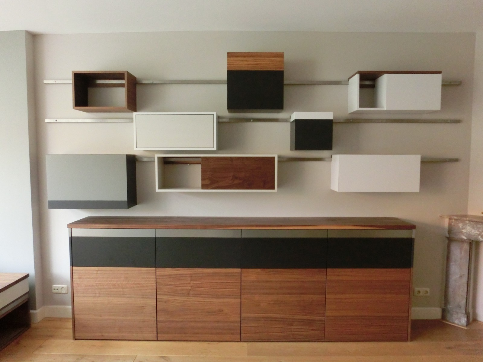 Custom made cupboards Voorburg - design and fabrication by Deuvel Design