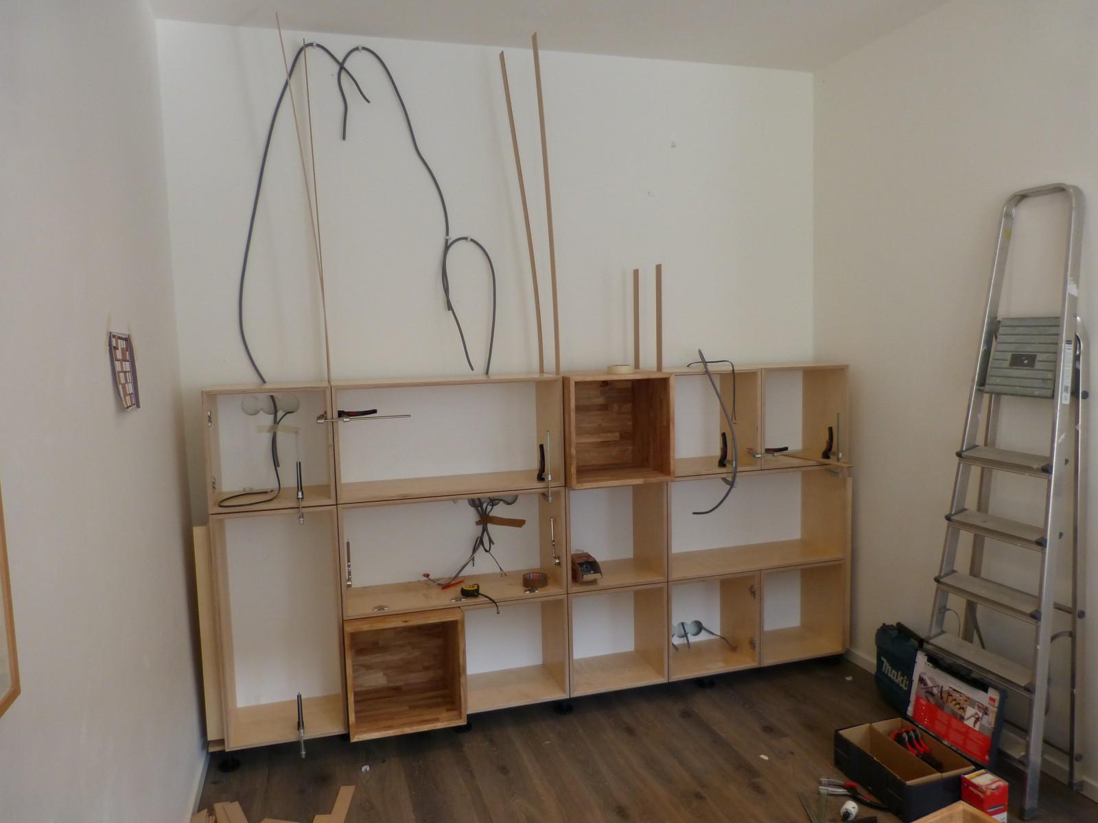 kubuskast wandmeubel boekenkast Deuvel Design 2