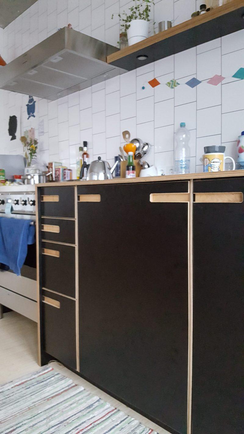 Custom made kitchen in Rijswijk - design and fabrication by Deuvel Design
