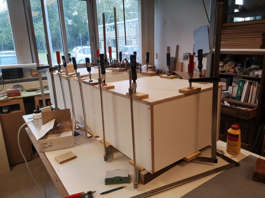 Roomseparator; design and fabrication by Deuvel Design, the Netherlands